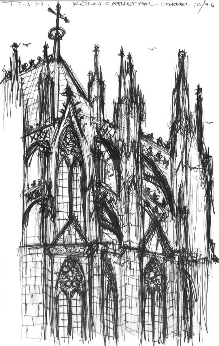Koln Cathedral Chapel
