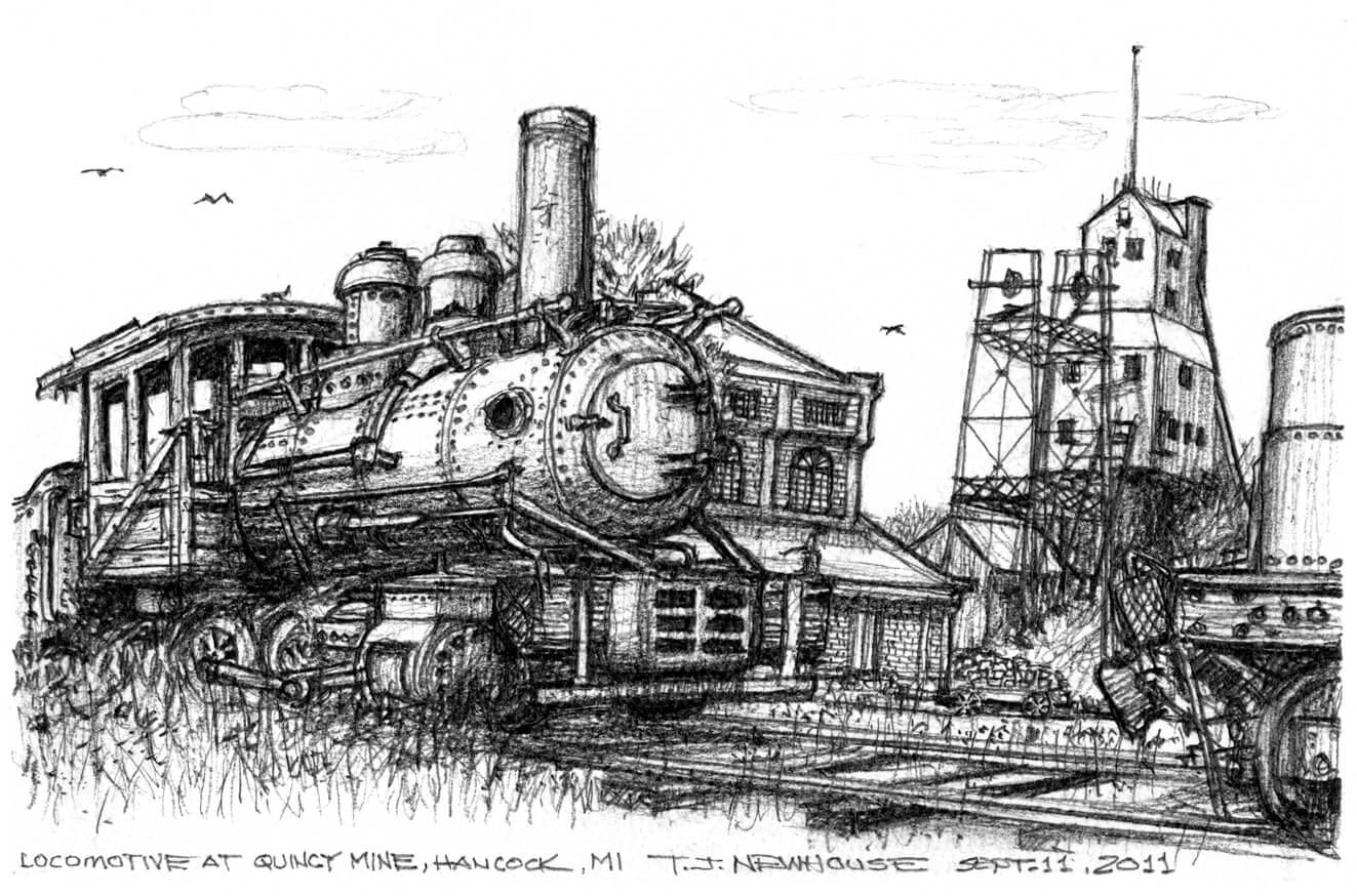 Quincy Mine Train