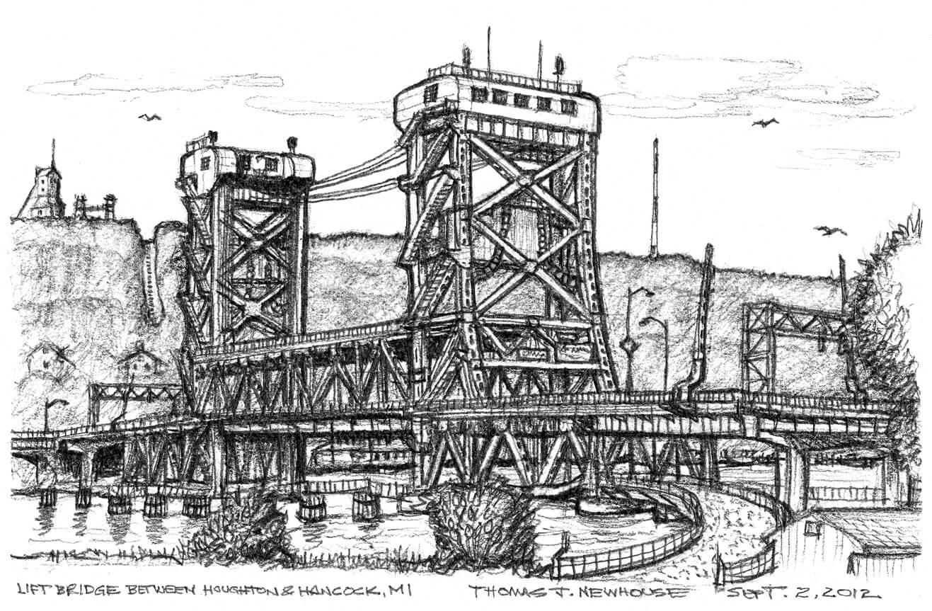 Lift Bridge Hancock